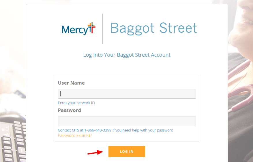 BaggotStreet Login