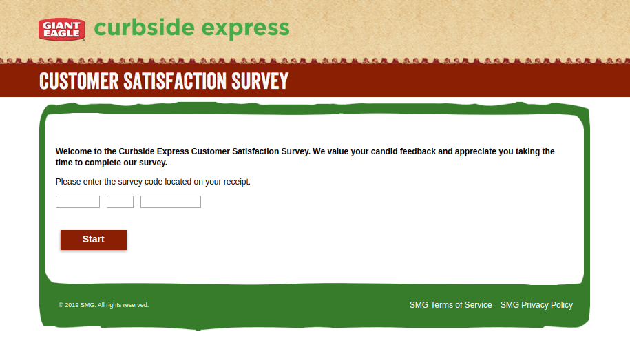 Curbside Express Customer Satisfaction Survey