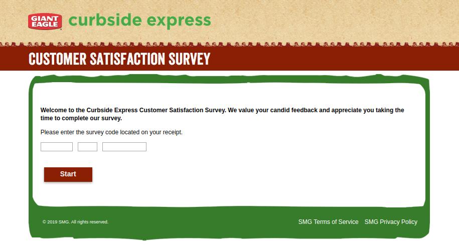 Curbside Express Customer Satisfaction Survey