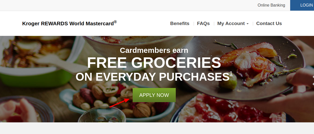 Kroger REWARDS World Mastercard Apply