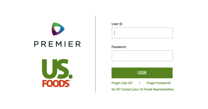 Login US Foods