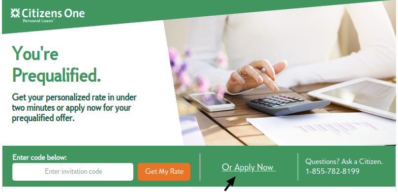 Citizens One Loan Apply