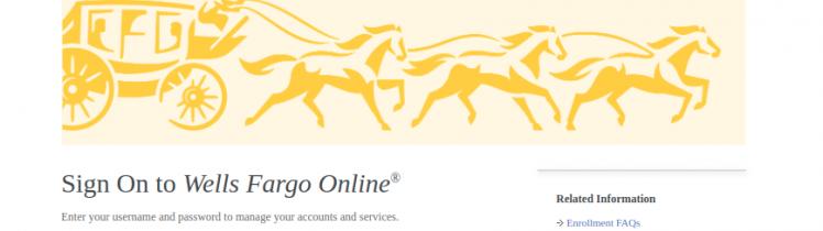 Wells Fargo Credit Card Activate Logo