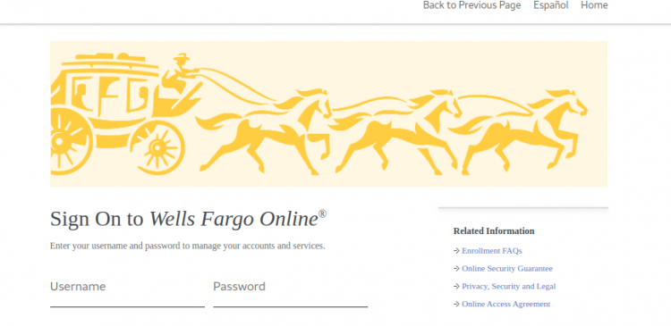 Wells Fargo Credit Card Activate Logo