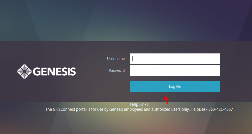 GHSConnect Login