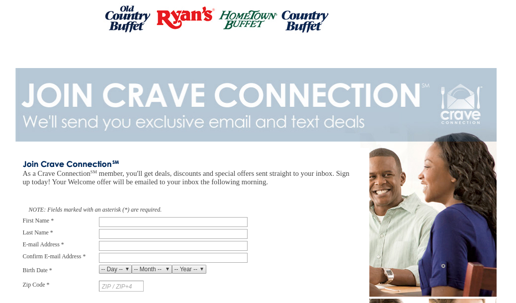 Join the Crave connection