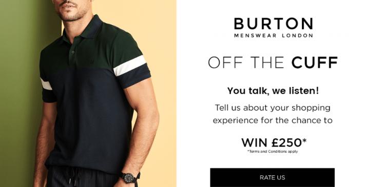 Burton Customer Survey