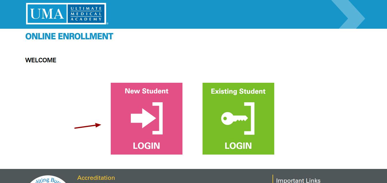 Online Enrollment StartUMA