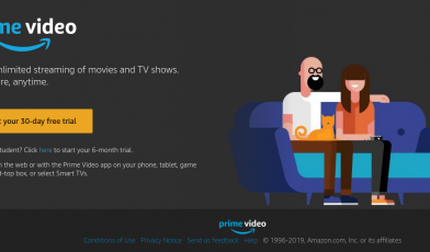 Start 30 Day Free Prime Video Trial