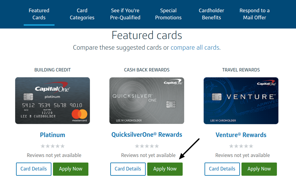 Capital One Credit Card apply