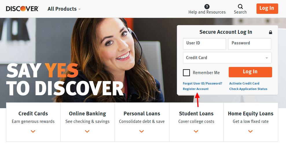 Discover Credit Card Register