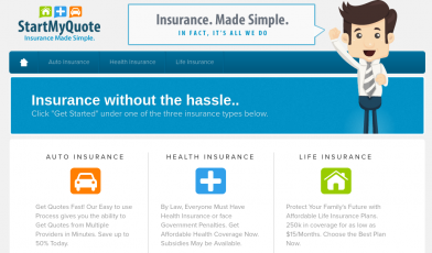 StartMyQuote Insurances Logo