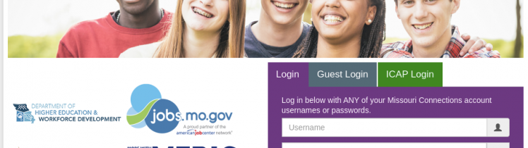 Missouri Connections Login