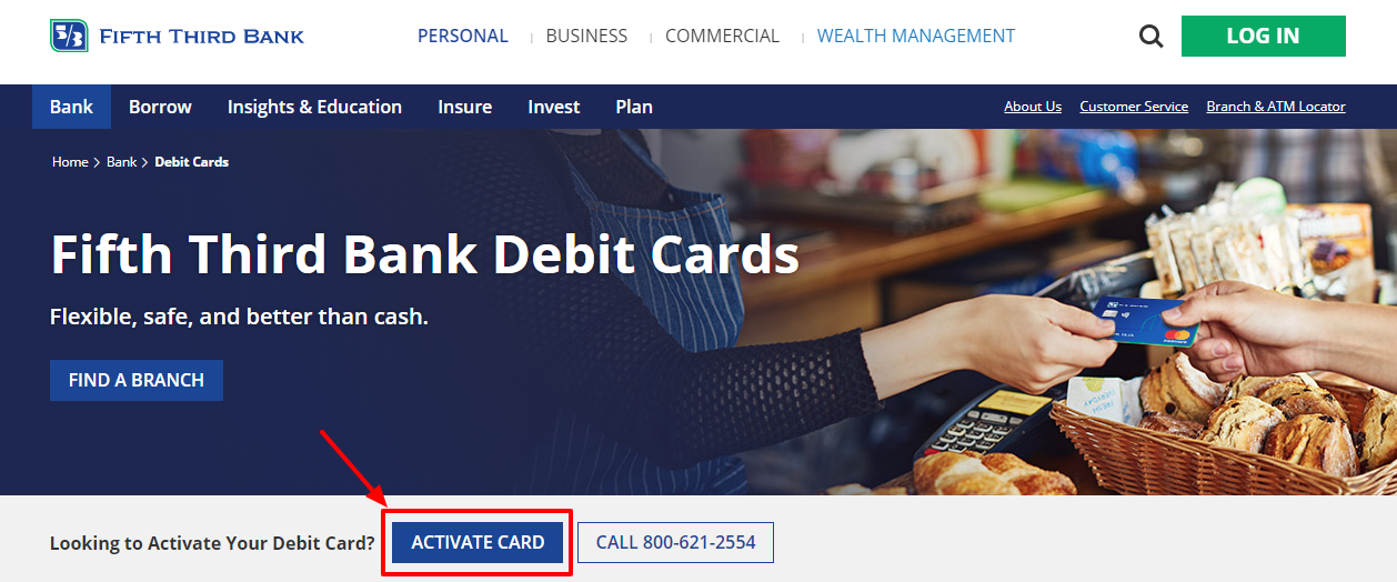 Activate Fifth Third Debit Cards