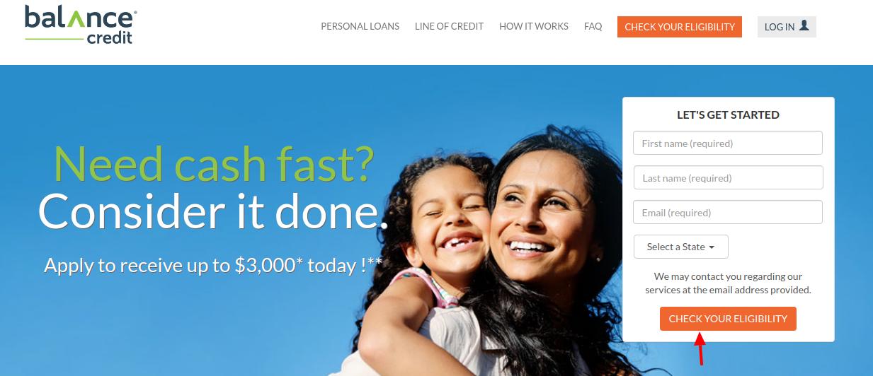 Balance Credit Elegibility Check