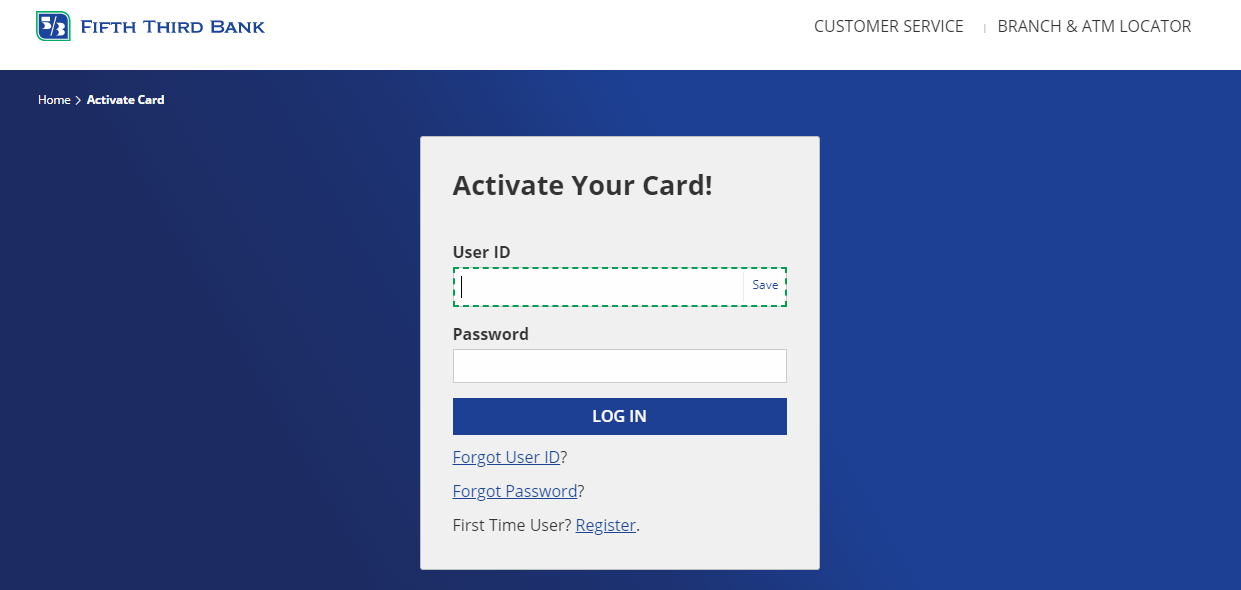 How to Activate Fifth Third Debit Card
