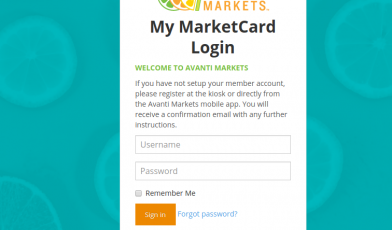 MarketCard Login