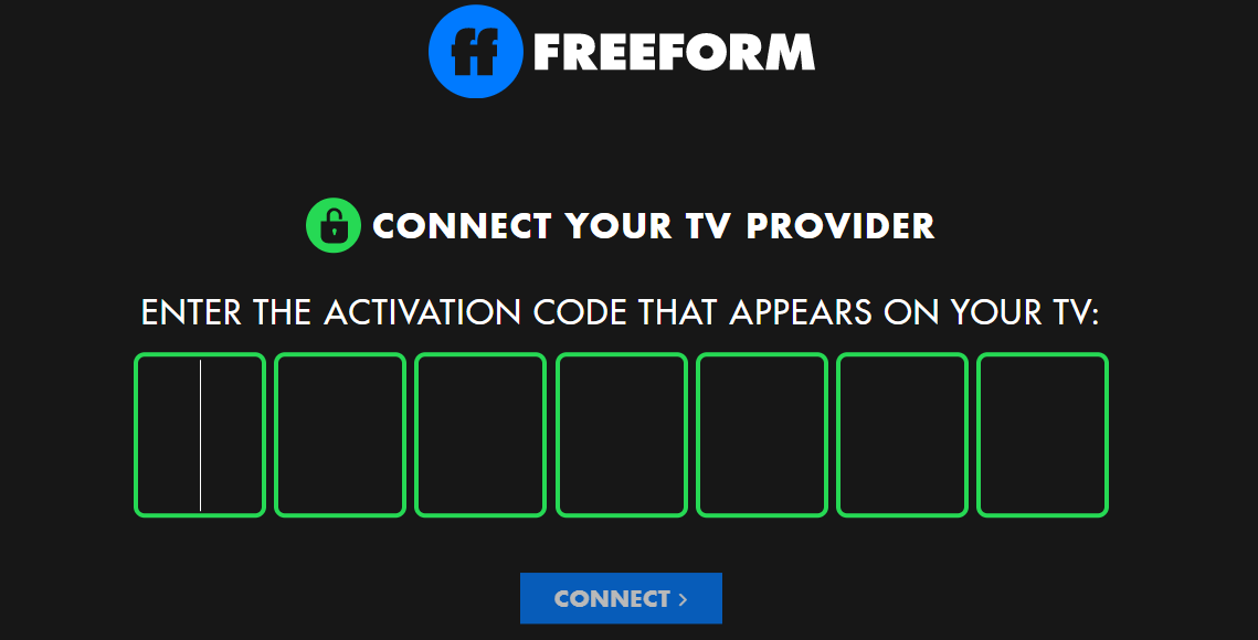 Activate Freeform Channel on Smart Devices
