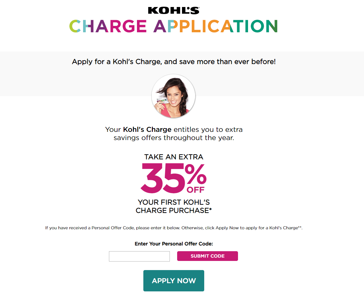 Guide to Apply for the Kohl's Charge Card