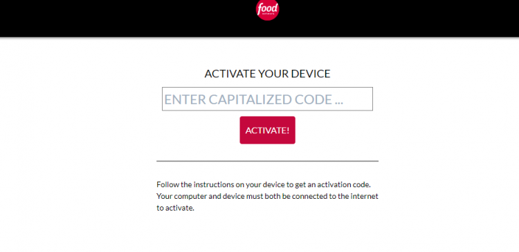 How to Activate Food Network Go on Smart Devices