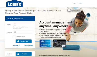 How to Activate Lowe's Credit Card