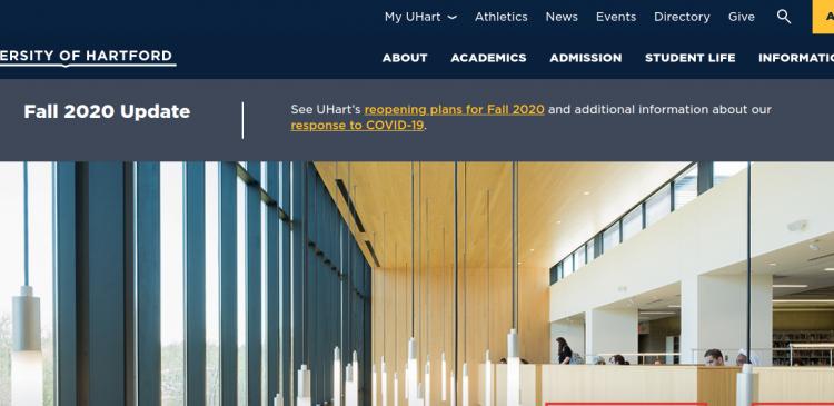 My UHart University Logo