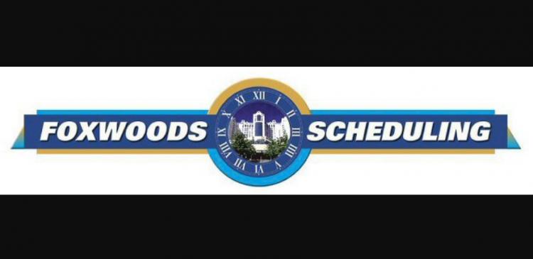 foxwoods scheduling logo