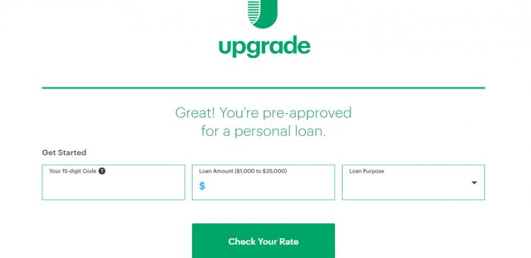 Upgrade Check Rate Logo