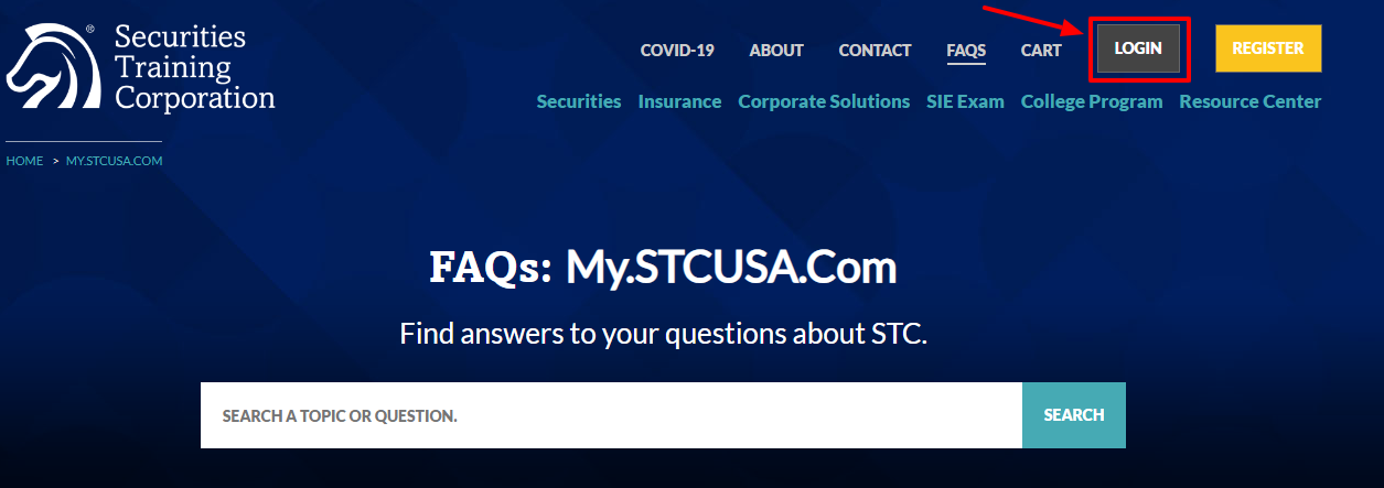 Log in to Your STC Account