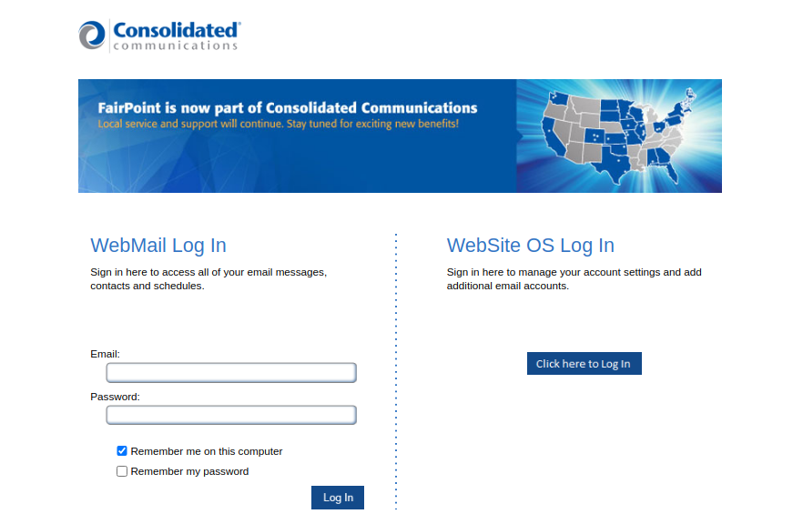 Consolidated Communications Login