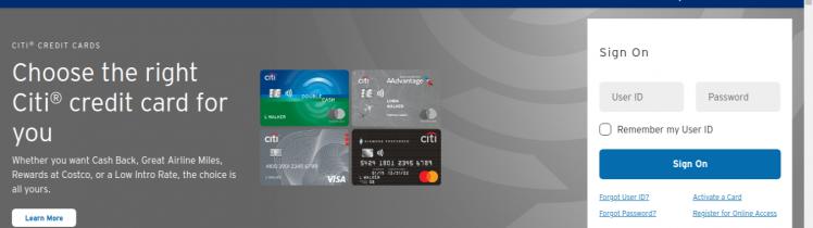 Citi Prestige Credit Card Logo
