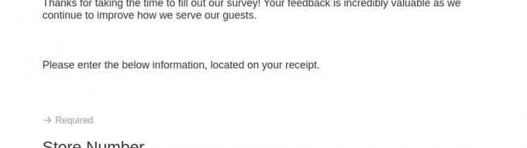 Ulta Store Survey