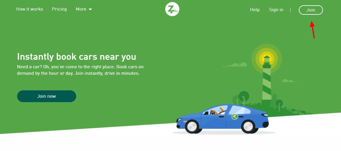 Zipcar Join