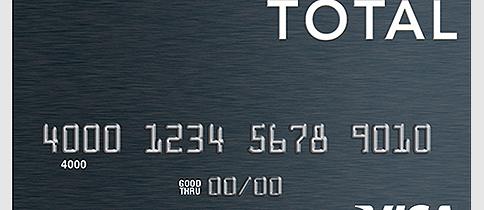 total card visa card logo